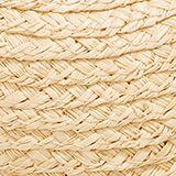 Hand-made straw cap, SAND, swatch