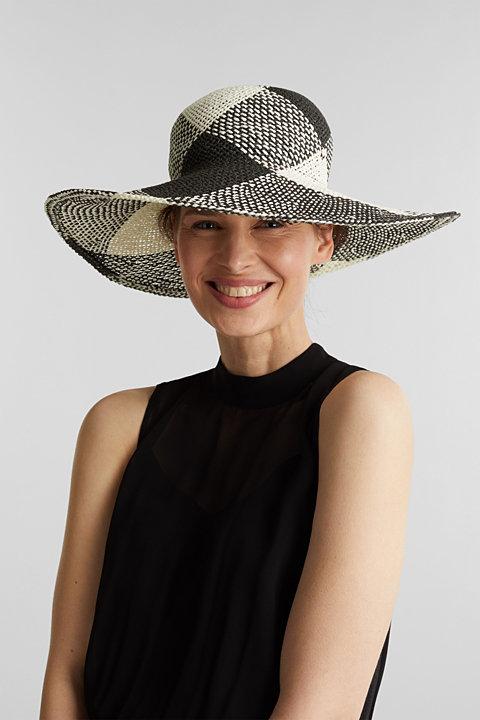 Hand-made straw hat
