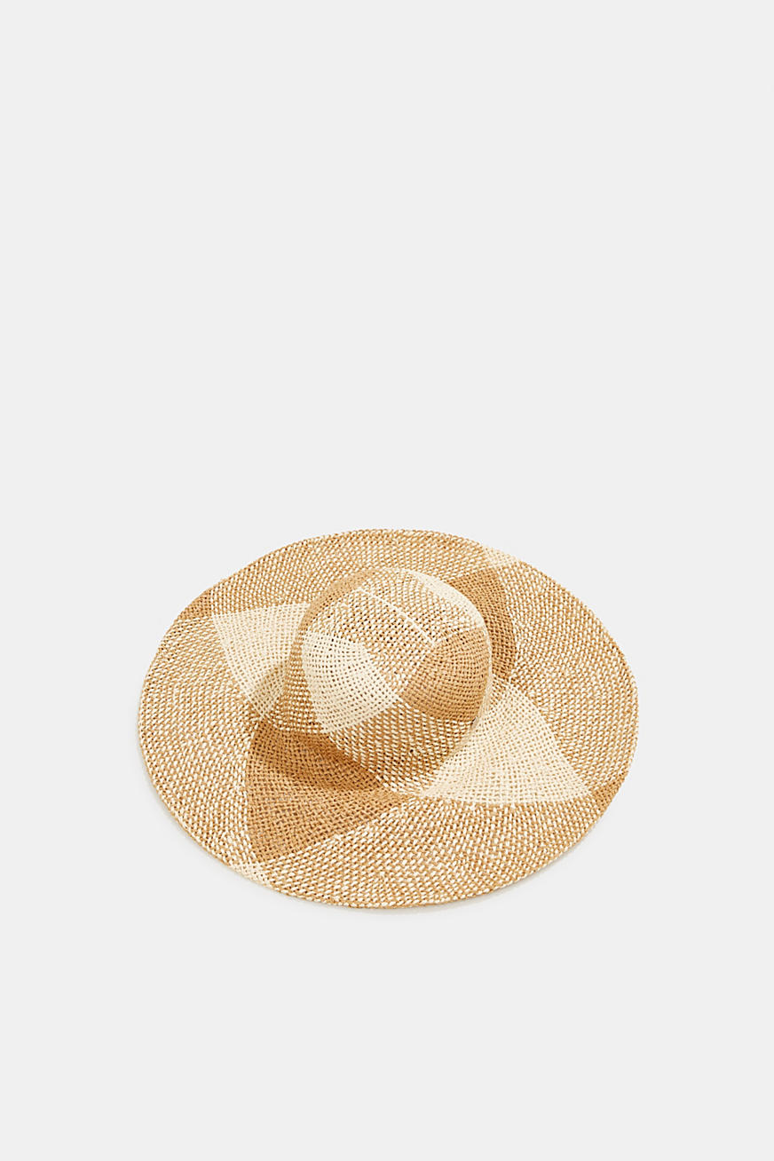 Hand-made straw hat