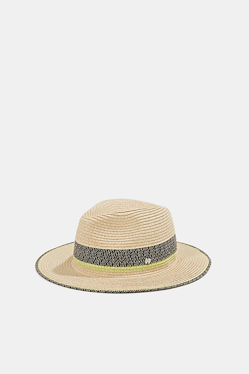 Panama hat made of bast