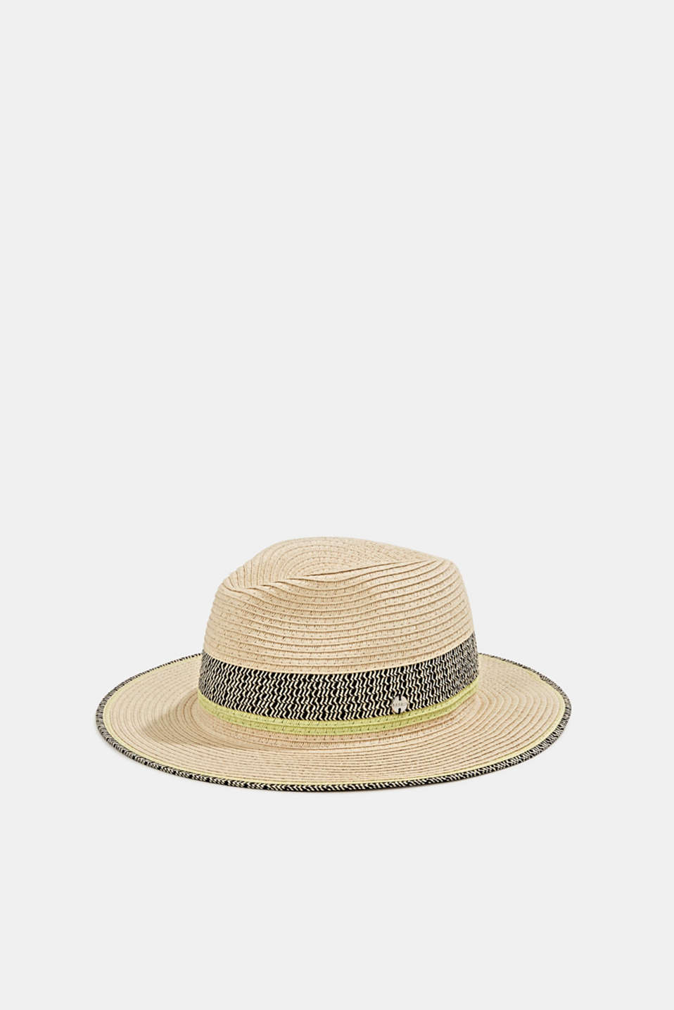 Esprit - Panama hat made of bast