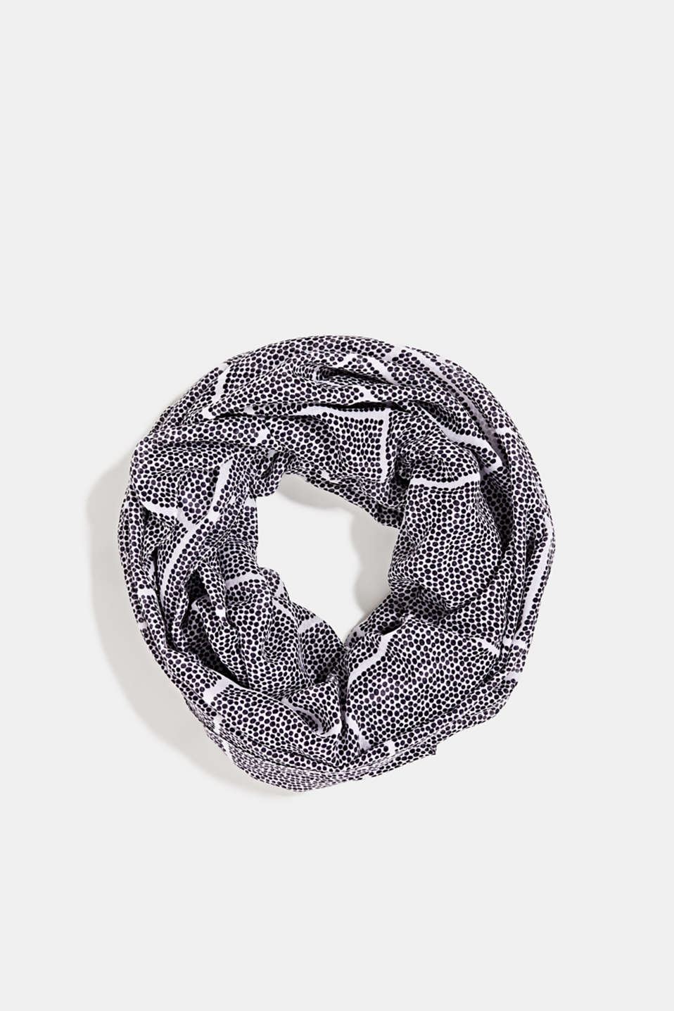Recycled: Pattern mix snood, ANTHRACITE, detail image number 0