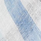 100% linen: Scarf with stripes, LIGHT BLUE, swatch