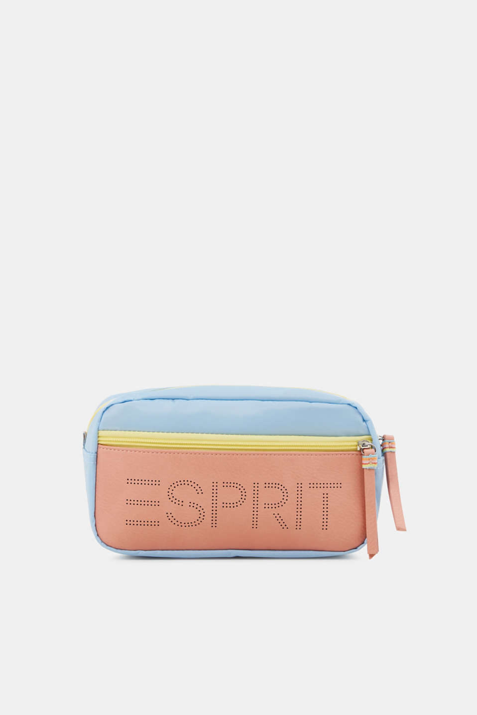 Nylon vanity bag, LIGHT BLUE, detail image number 0