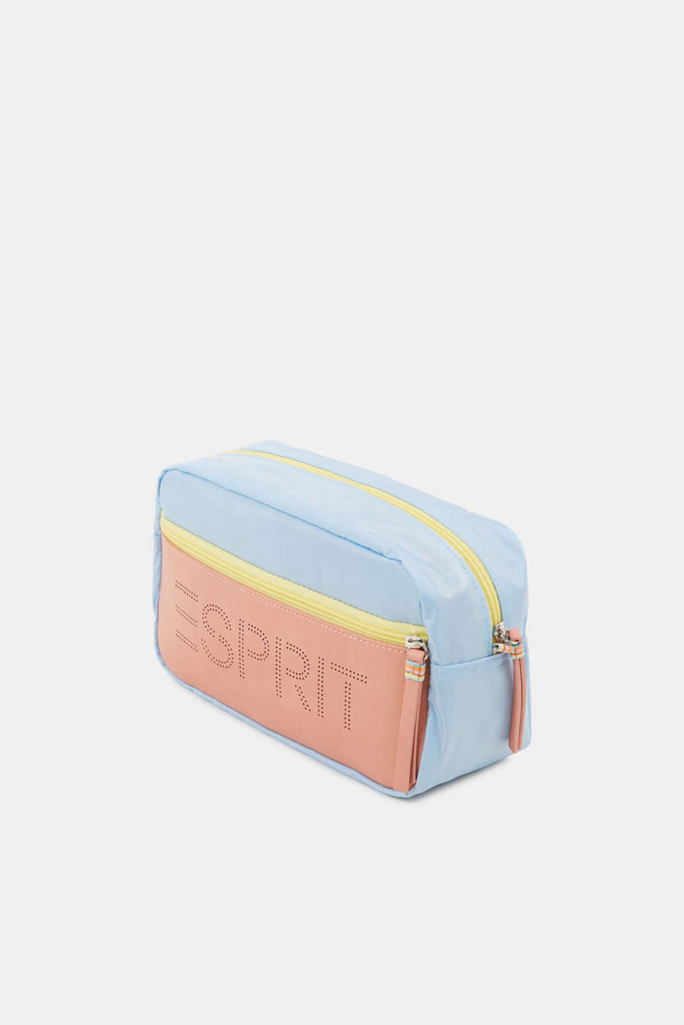 Nylon vanity bag, LIGHT BLUE, detail image number 2