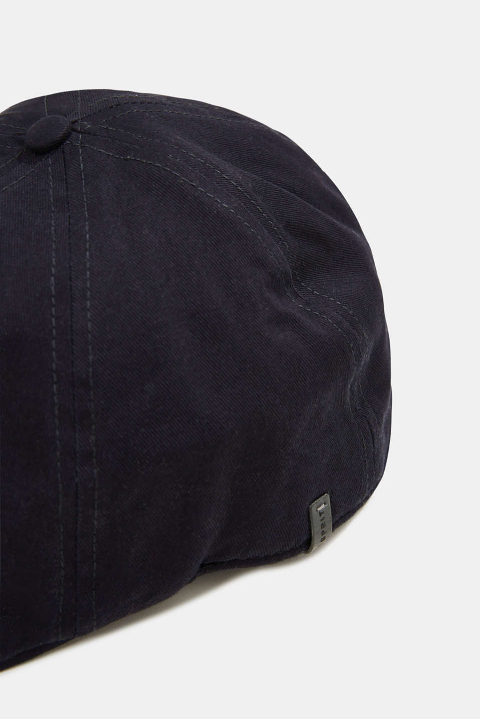 Flat cap made of 100% cotton, NAVY, detail image number 1