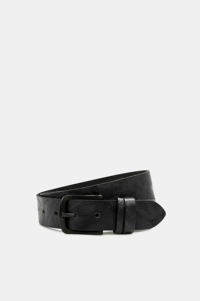Belt in robust leather