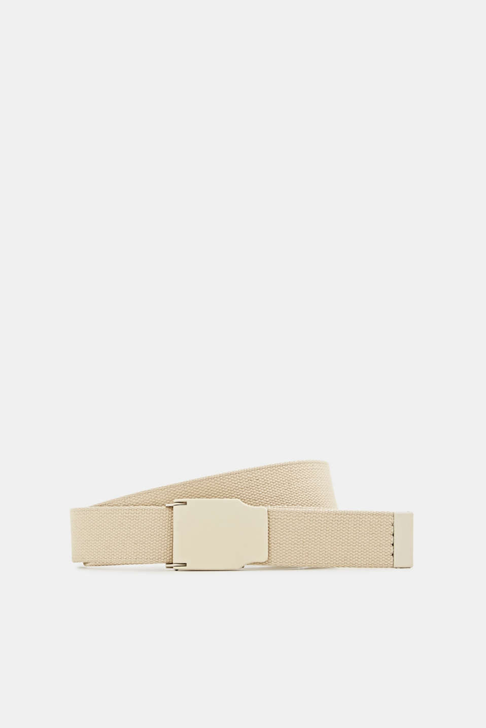 Esprit - Woven belt with a plaque buckle