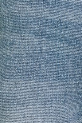 Ankle-length jeans with a bandana, BLUE MEDIUM WASH, detail
