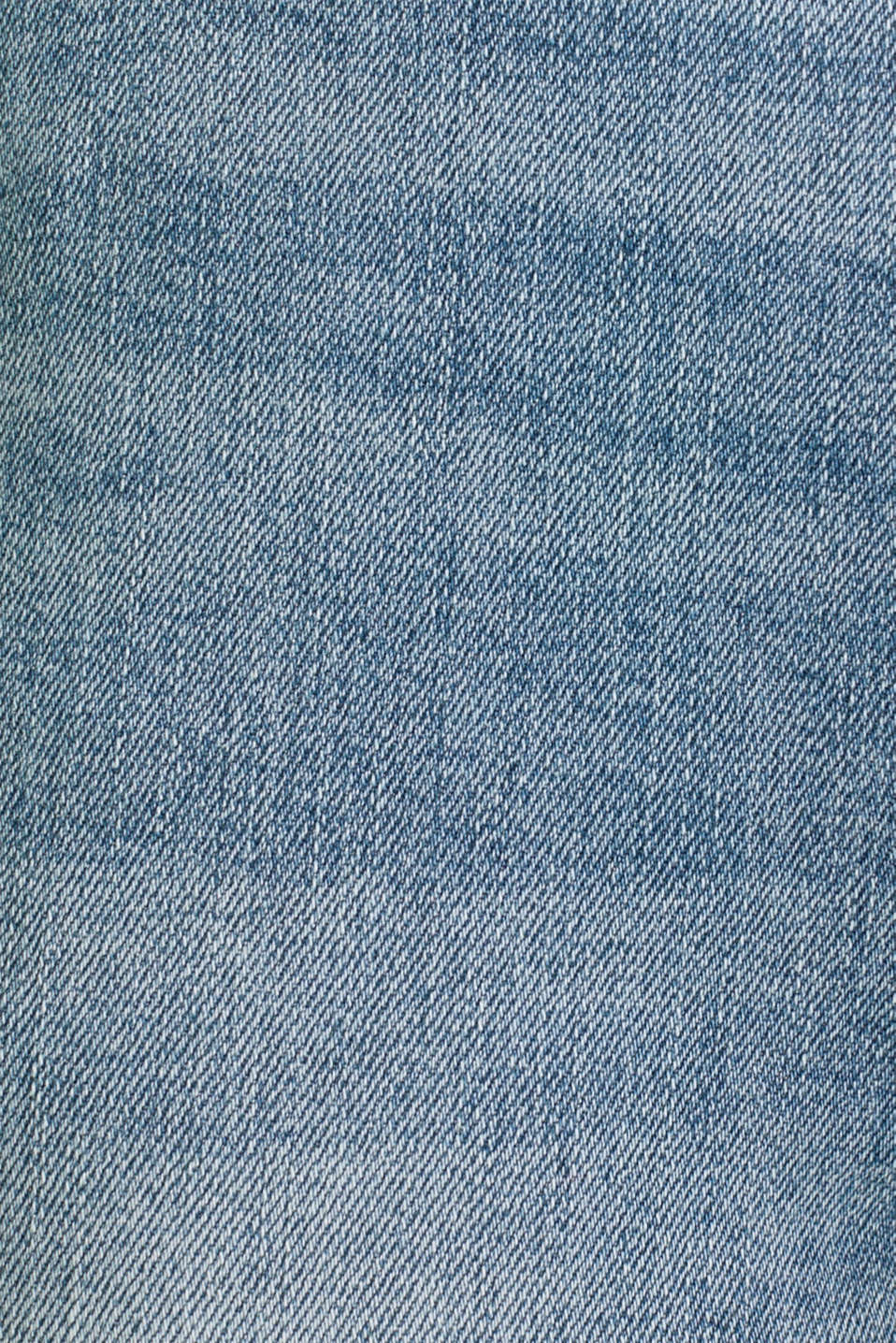 Ankle-length jeans with a bandana, BLUE MEDIUM WASH, detail image number 4