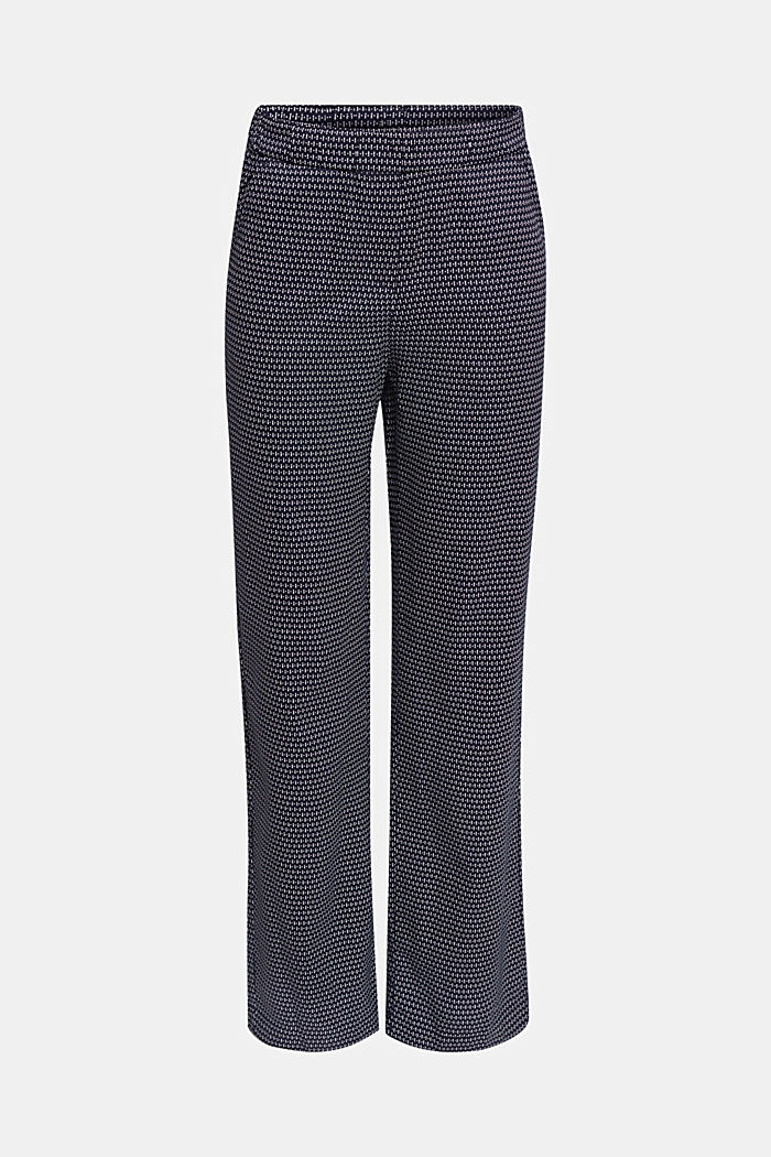 Made of TENCEL™: trousers with print