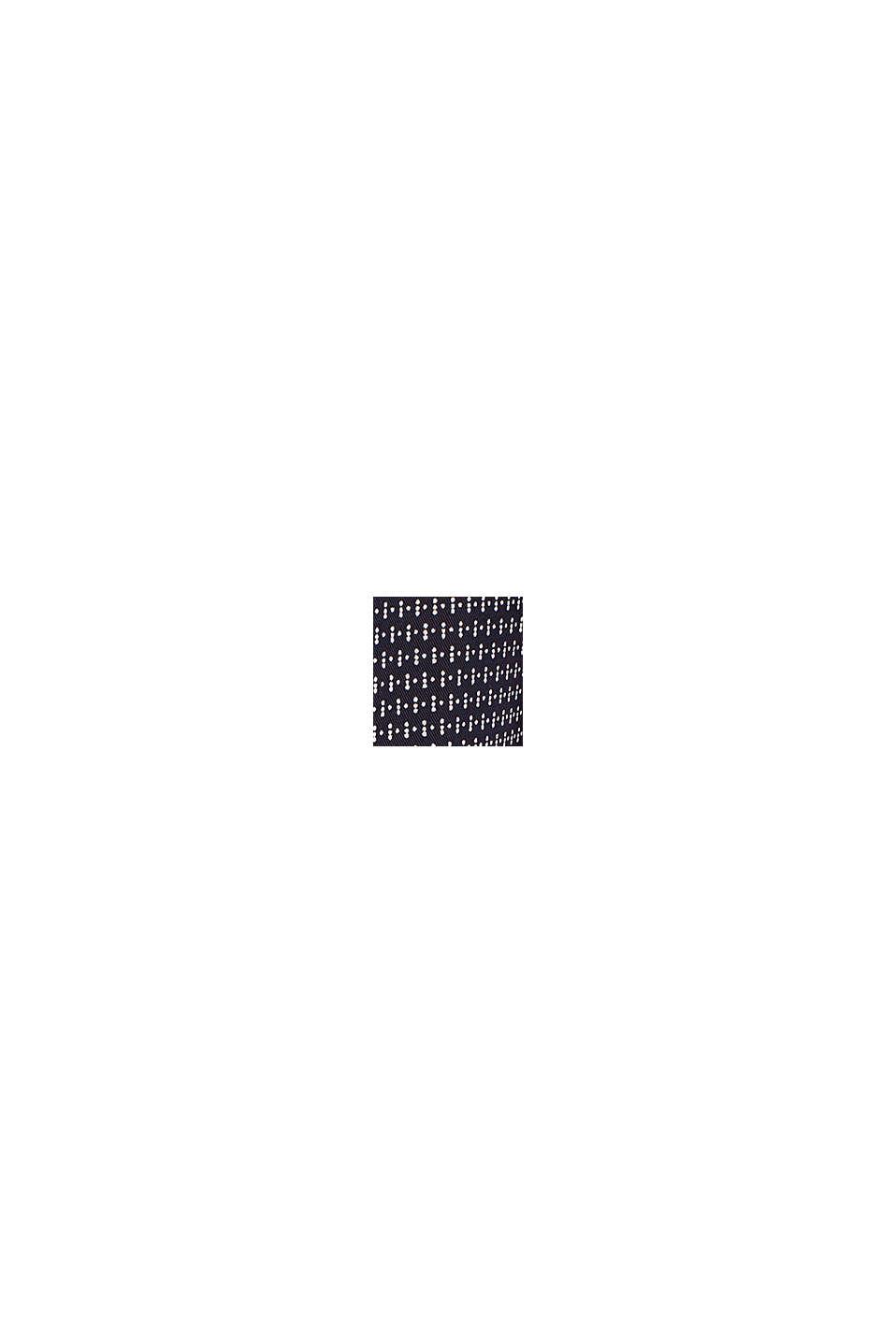 Av TENCEL™: Byxa med mönster, NAVY, swatch