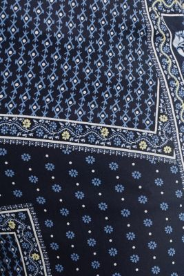 Made of TENCEL™: trousers with print, NAVY 4, detail