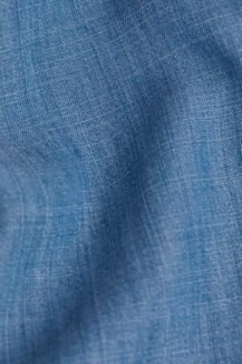 Denim tracksuit bottoms made of lyocell, BLUE MEDIUM WASH, detail