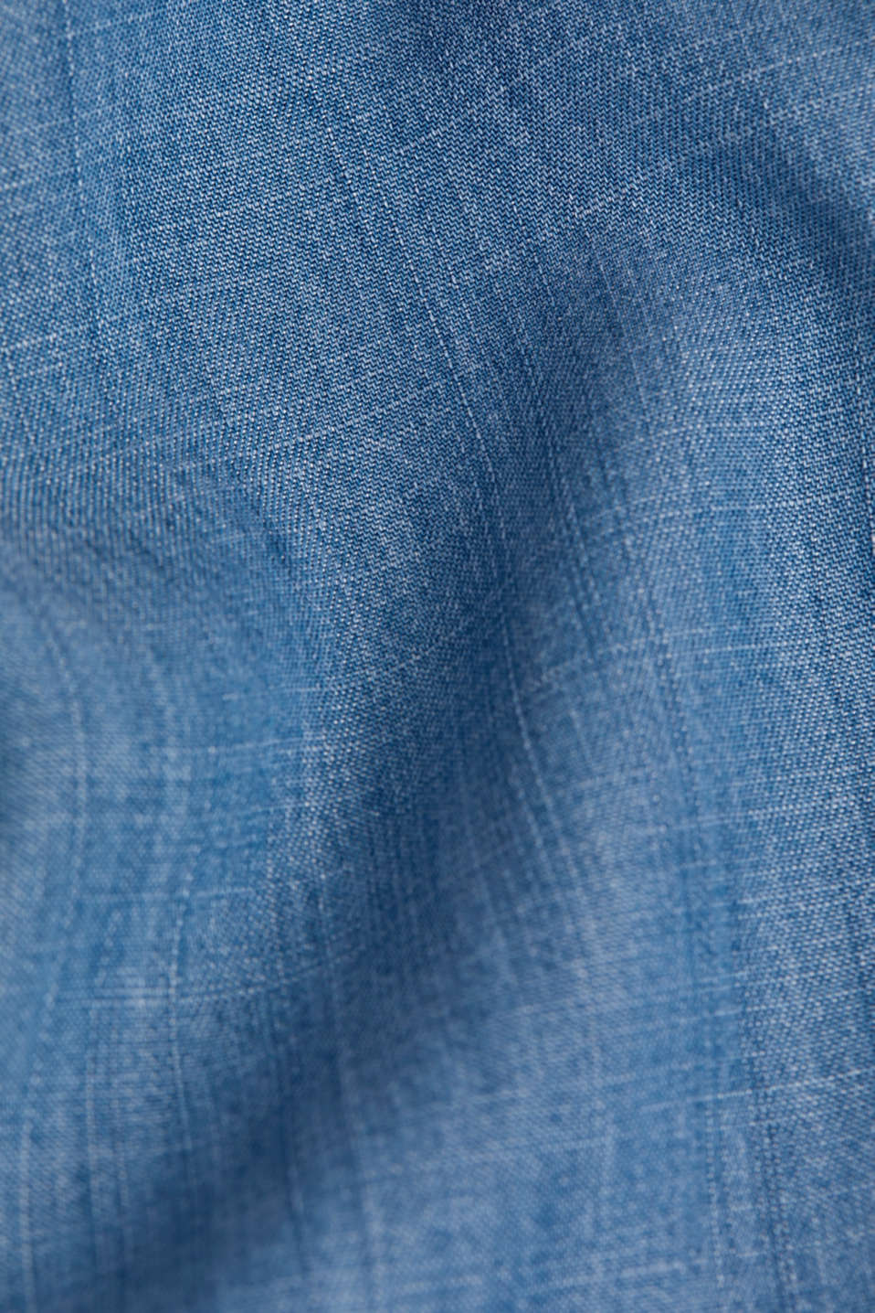 Denim tracksuit bottoms made of lyocell, BLUE MEDIUM WASH, detail image number 4