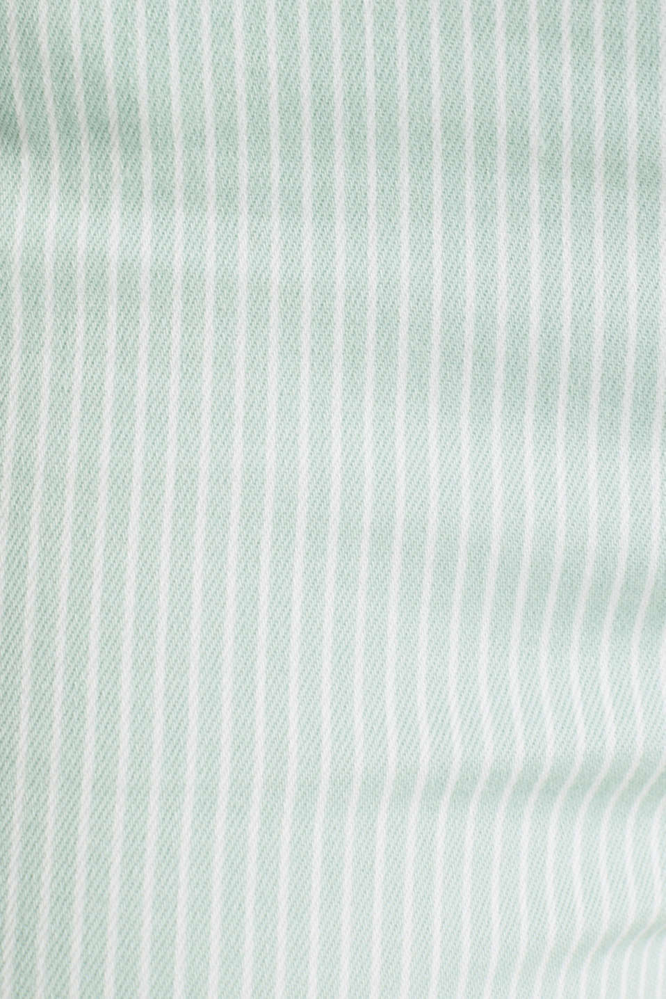 REPREVE striped Trousers, recycled, LIGHT AQUA GREEN, detail image number 4