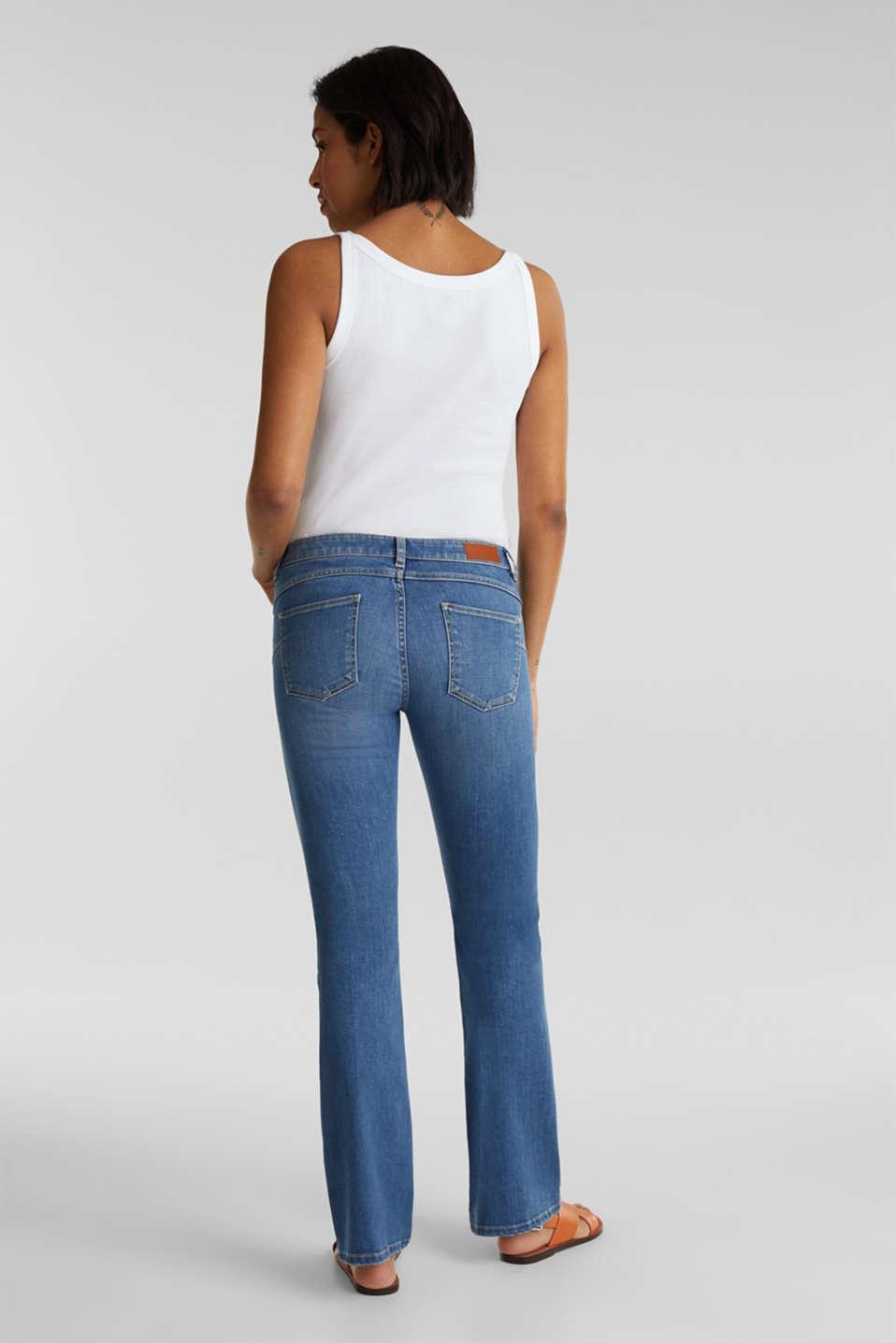 Lightweight shaping jeans, BLUE MEDIUM WASH, detail image number 3