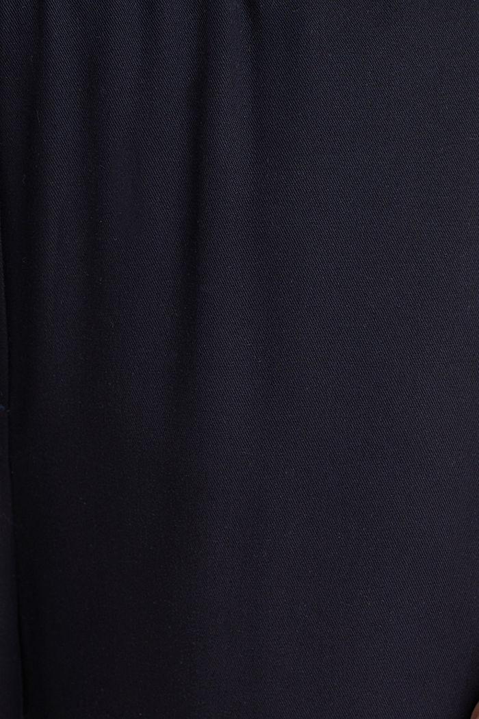 Pants mit Comfy-Bund, TENCEL™, NAVY, detail image number 3