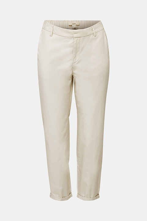 Papertouch chinos, organic cotton