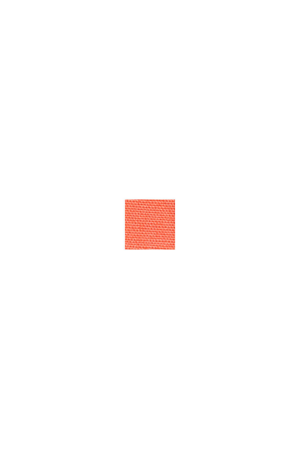 Chino Papertouch en coton bio, CORAL, swatch