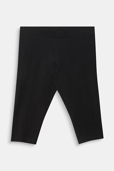 CURVY leggings containing organic cotton
