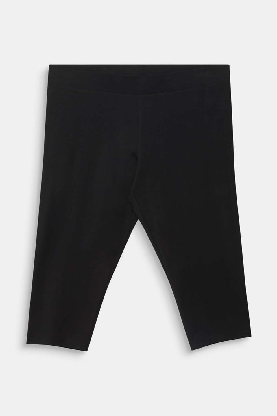 CURVY leggings containing organic cotton, BLACK, detail image number 5