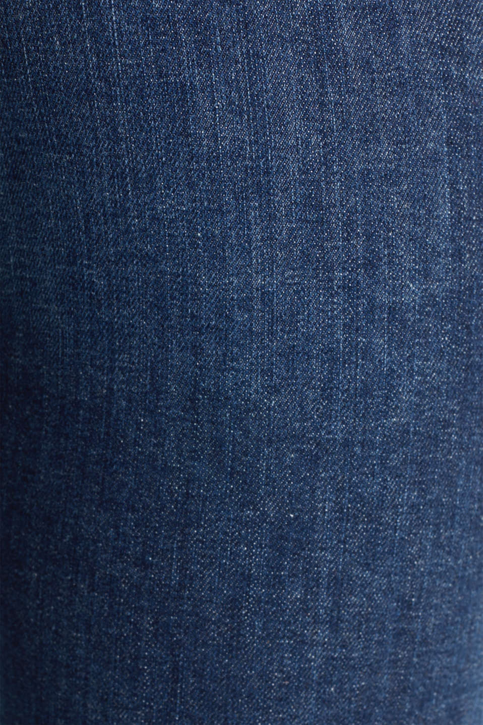 Basic jeans with organic cotton, BLUE DARK WASH, detail image number 3