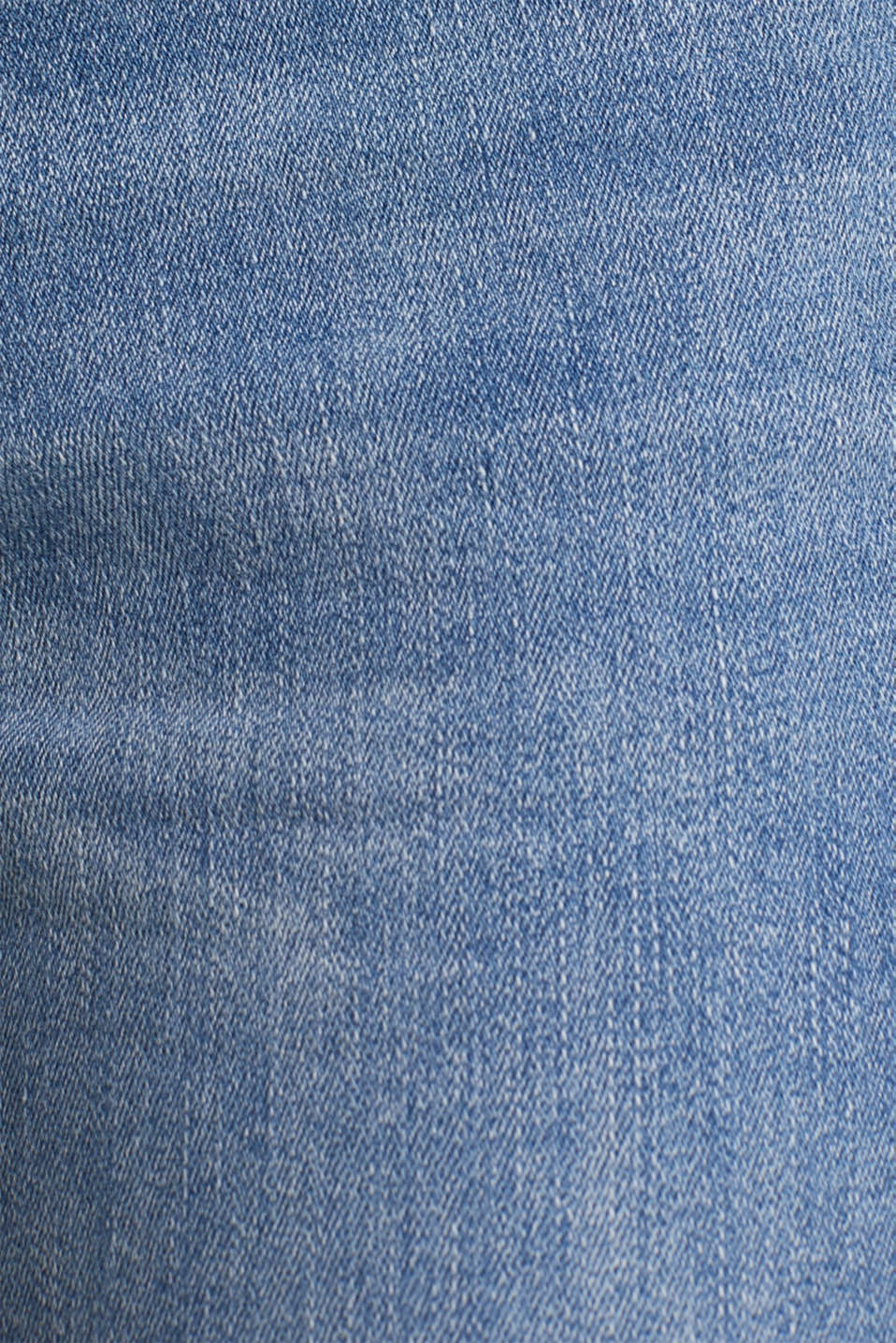 Ankle-length jeans with embroidery, BLUE MEDIUM WASH, detail image number 4