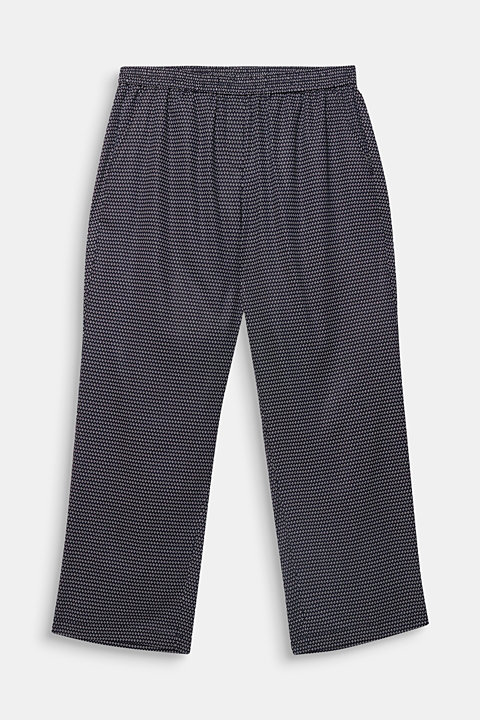 CURVY printed trousers in TENCEL™