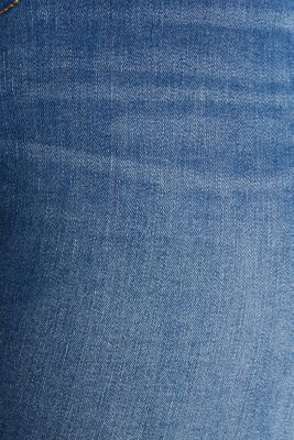 CURVY stretch capris jeans, BLUE MEDIUM WASH, detail