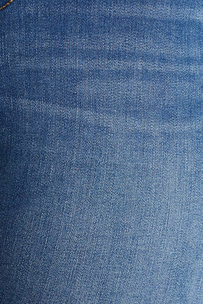 CURVY Capri-Stretch-Jeans, BLUE MEDIUM WASHED, detail image number 4