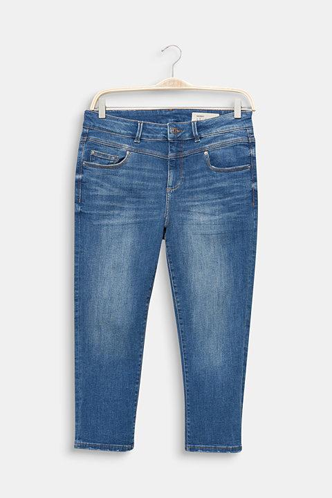 CURVY stretch capris jeans
