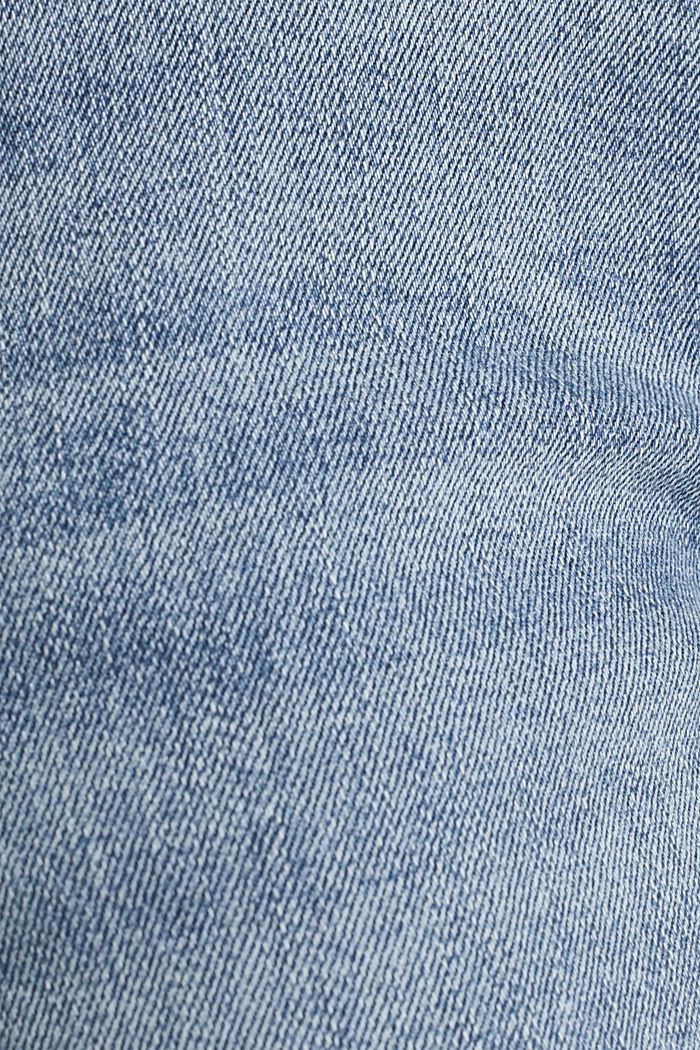 Jeans-Bermuda mit Bandana, BLUE MEDIUM WASHED, detail image number 4