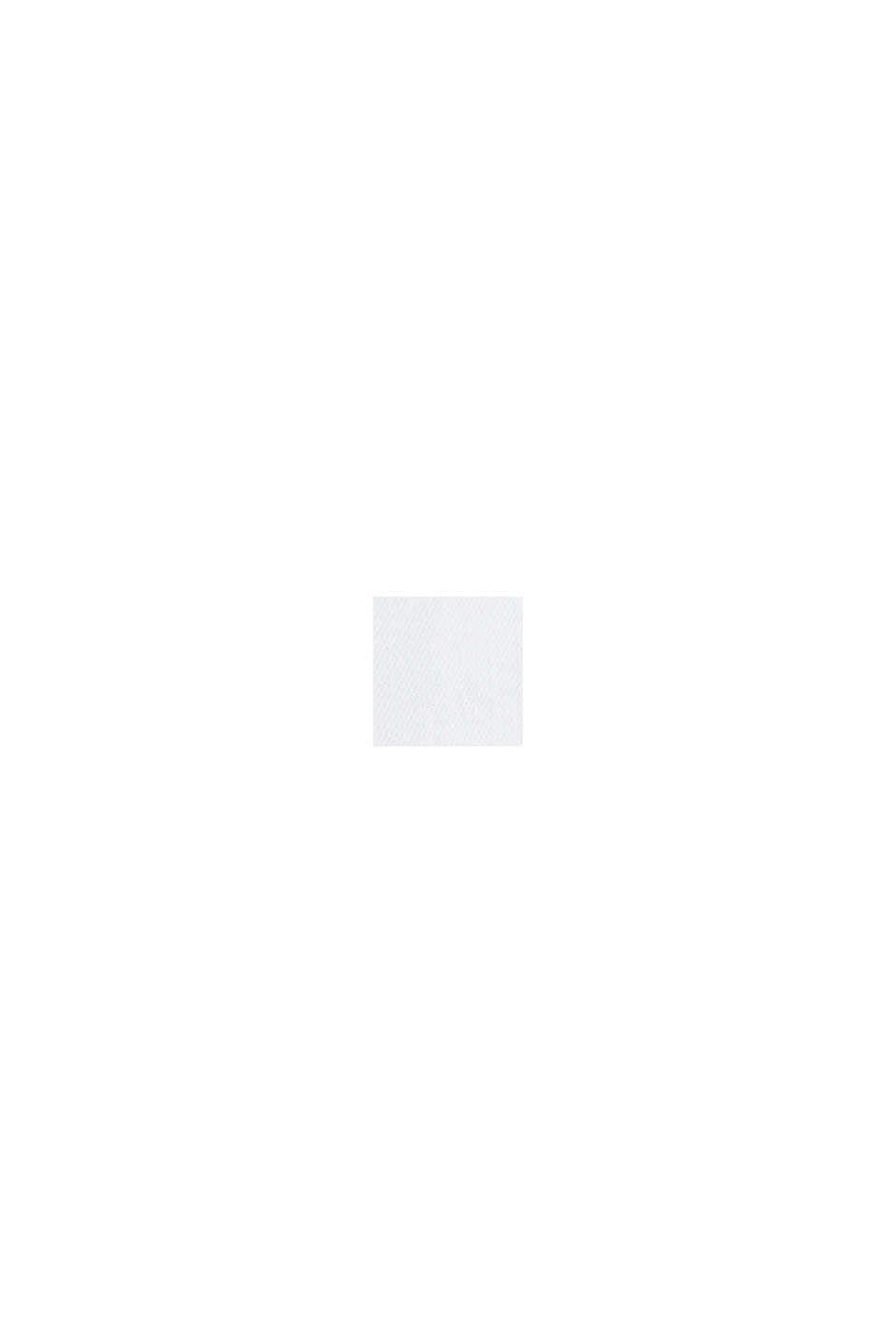 Med TENCEL™: bermudashorts med bandana, WHITE, swatch
