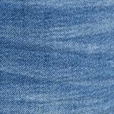 Shorts made of soft tracksuit denim, BLUE MEDIUM WASHED, swatch