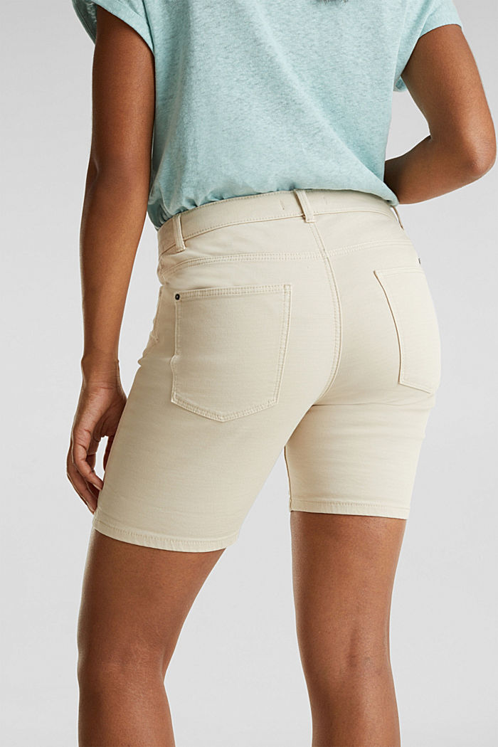 REPREVE Stretch-Shorts, recycelt, SAND, detail image number 5