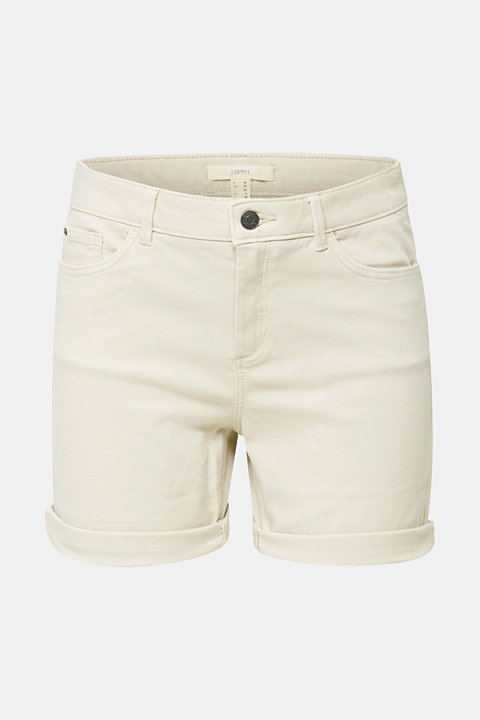 REPREVE® stretch shorts, recycled