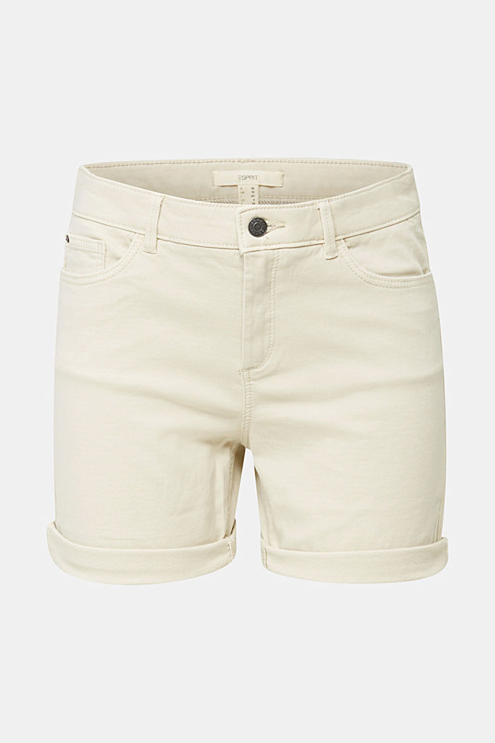 REPREVE Stretch-Shorts, recycelt, SAND, detail image number 6