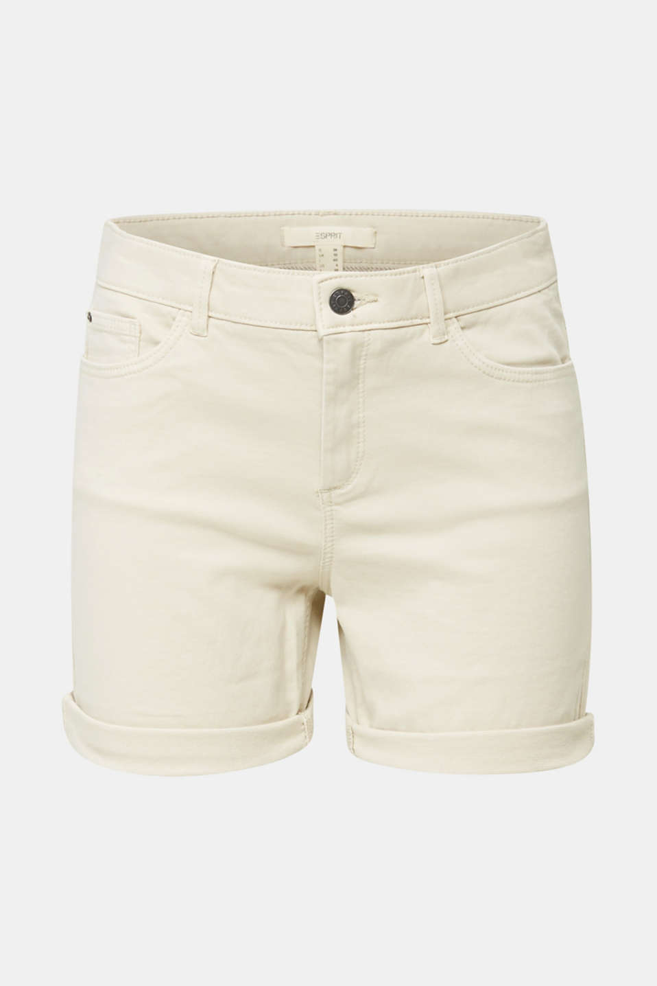 REPREVE® stretch shorts, recycled, SAND, detail image number 5