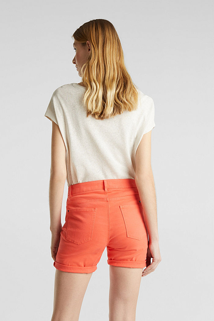 REPREVE Stretch-Shorts, recycelt, CORAL, detail image number 2