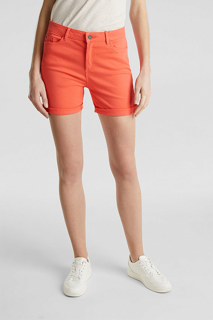 REPREVE Stretch-Shorts, recycelt, CORAL, detail image number 5