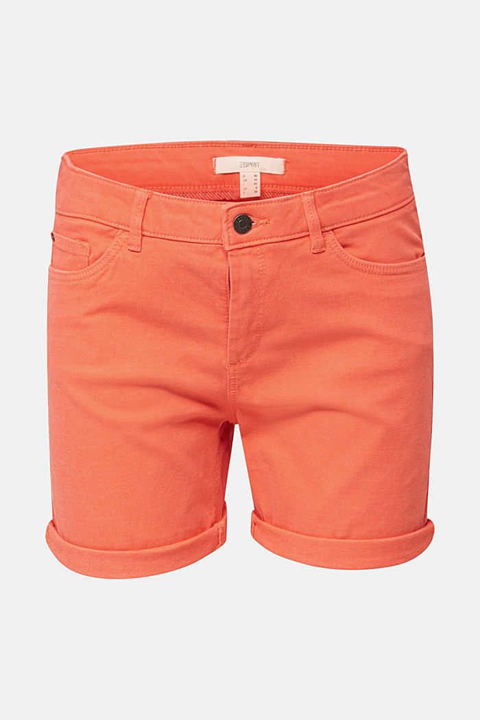 REPREVE Stretch-Shorts, recycelt, CORAL, detail image number 6