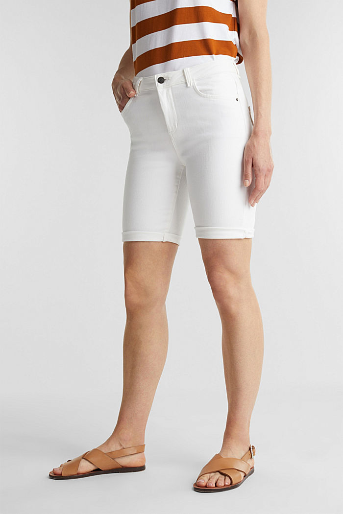 EarthColors® Jogg-Shorts, WHITE, detail image number 0