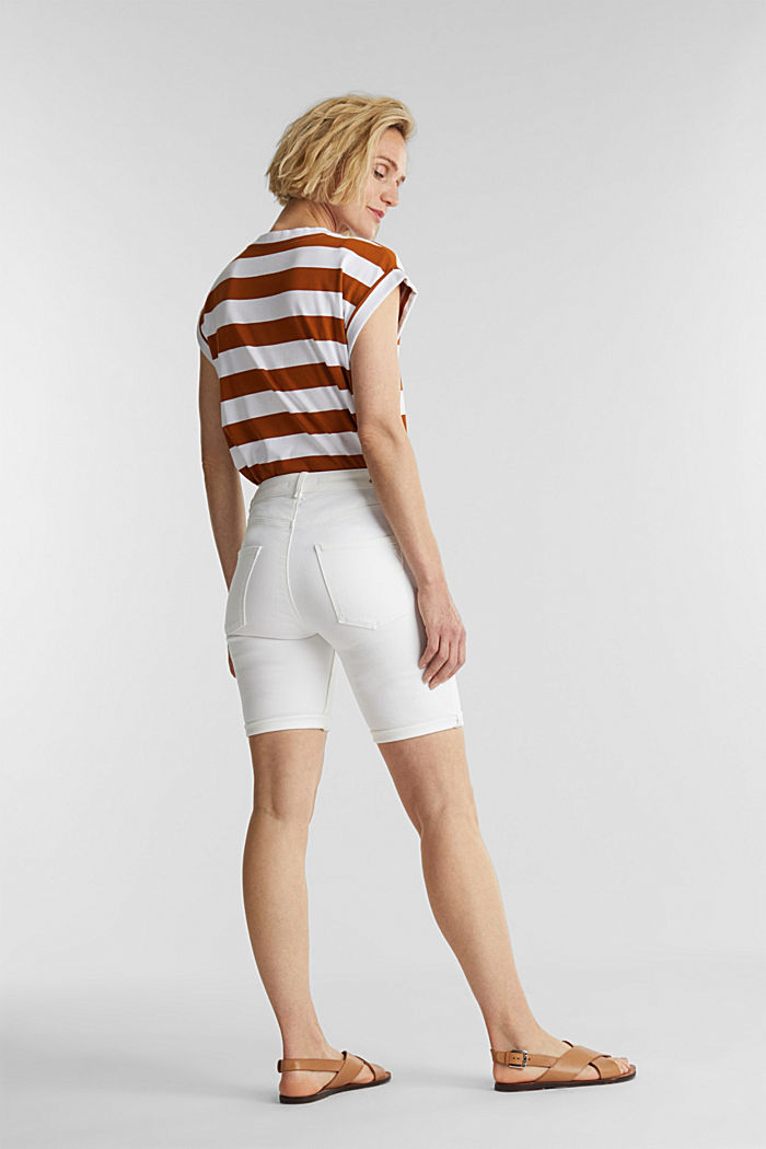 EarthColors® Jogg-Shorts, WHITE, detail image number 3