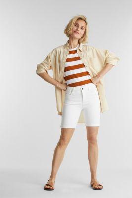 EarthColors® jogging shorts, WHITE, detail
