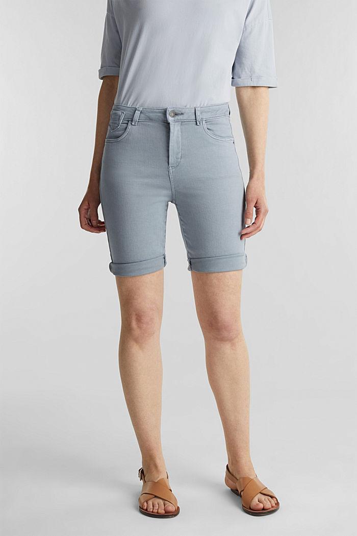 EarthColors® Jogg-Shorts, LIGHT BLUE LAVENDER, detail image number 6