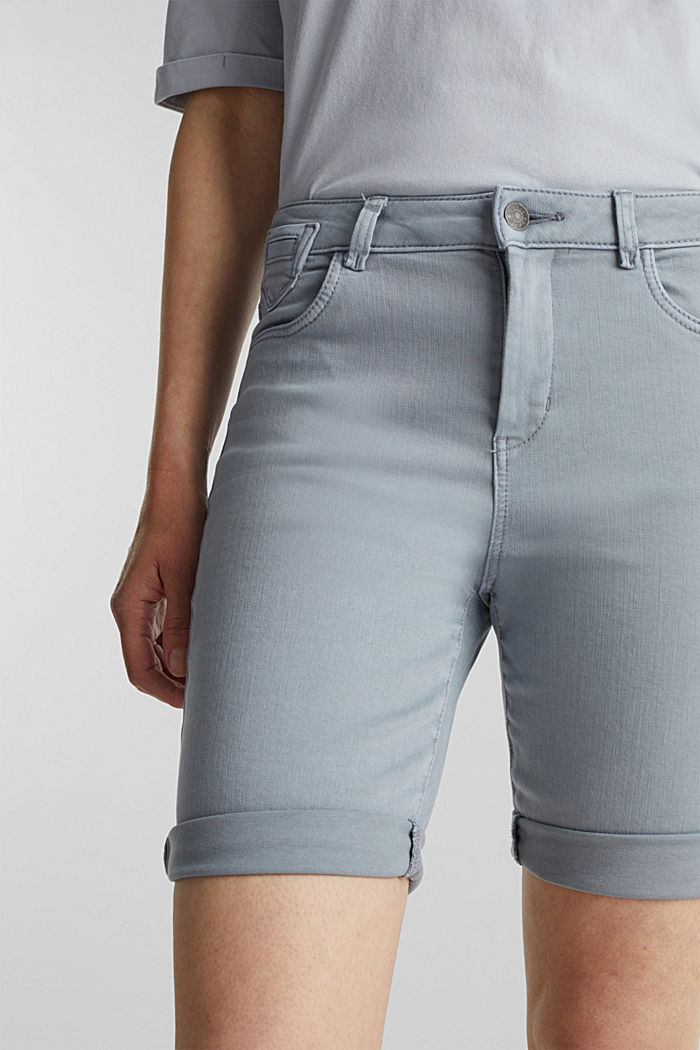 EarthColors® Jogg-Shorts, LIGHT BLUE LAVENDER, detail image number 2