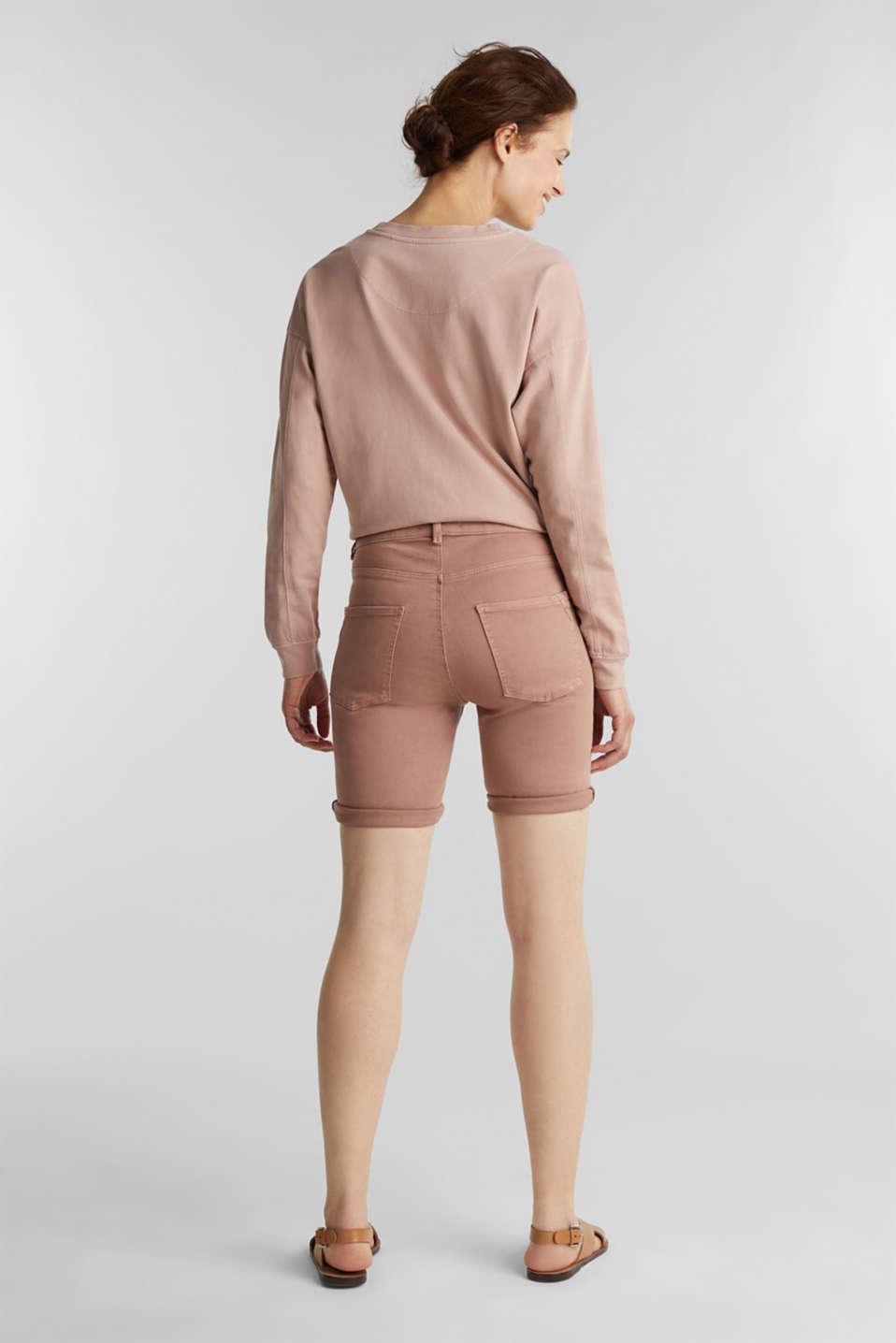 EarthColors® jogging shorts, MAUVE, detail image number 3