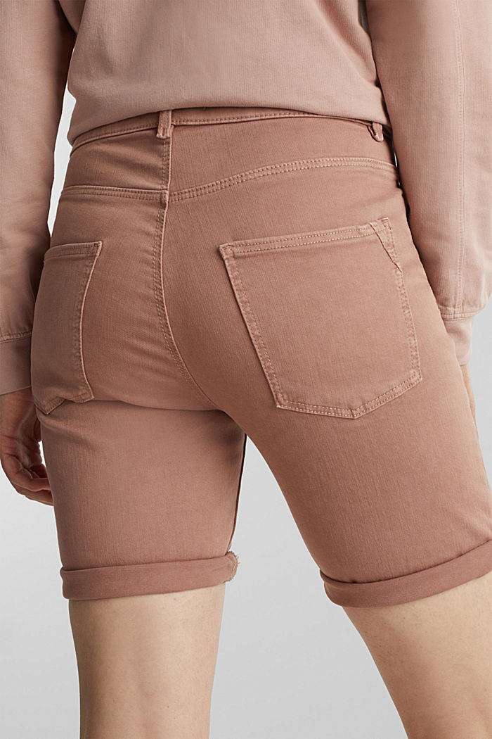 EarthColors® jogging shorts, MAUVE, detail image number 5