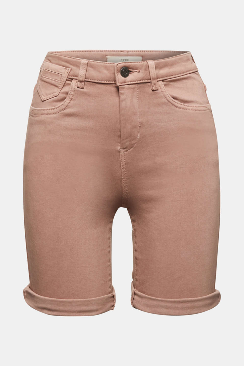 EarthColors® jogging shorts, MAUVE, detail image number 7